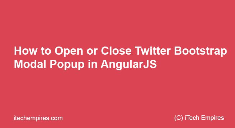 how to open popup window in angularjs