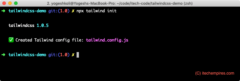 Generating-Tailwind-Config-file