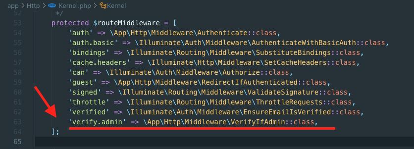 Register Custom Middleware